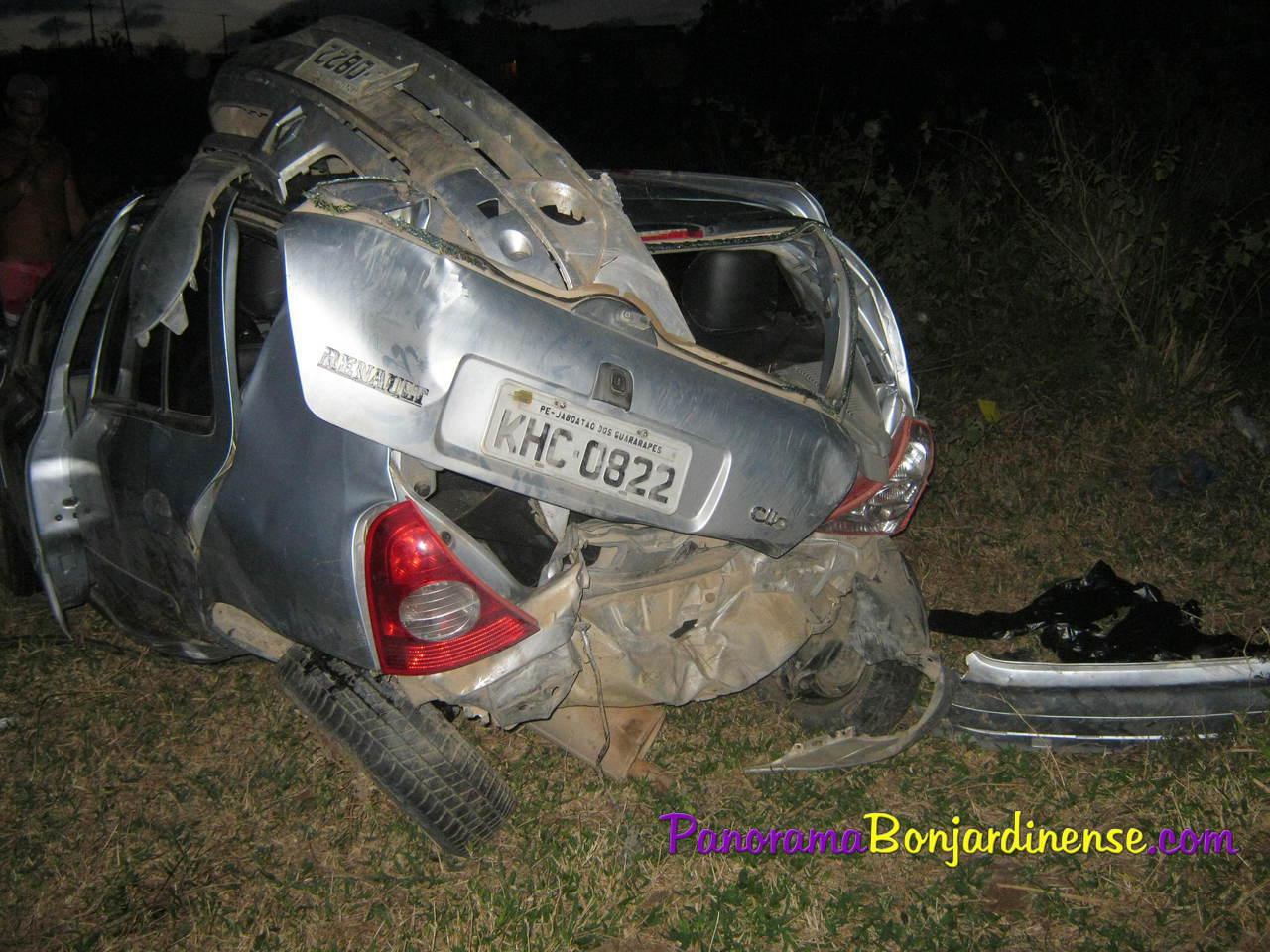Acidente na PE-88 em Bom Jardim-PE 23.03.2013: