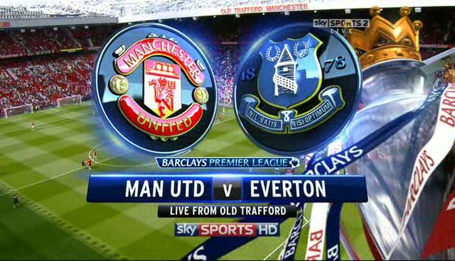 Jadwal Siaran Langsung Manchester United vs Everton