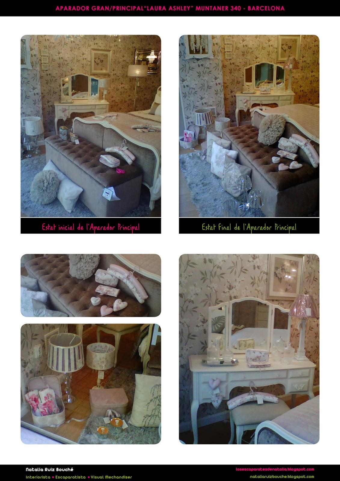 Los escaparates de natalia mobiliario y decoraci n tiempo - Laura ashley barcelona ...