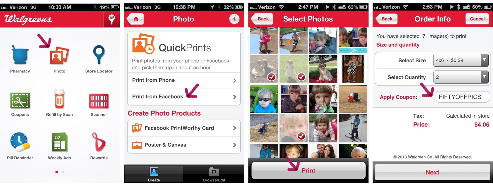 Lines Across Reviews How To Print Photos From Your Phone Or