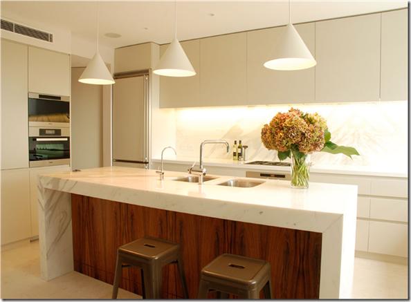 Iago Patucci Interiores Iluminação para Cozinhas # Iluminacao De Cozinha Com Ilha