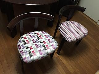 椅子の張り替え カメンゴ(カサマンス)