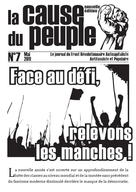 La cause du peuple (version PCMF) Cdp7_une