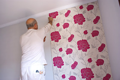 Papeles pared como colocar papel pintado for Colocar papel pintado