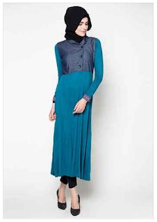 Aneka Desain Busana Muslim Pesta Brand Zoya 2016
