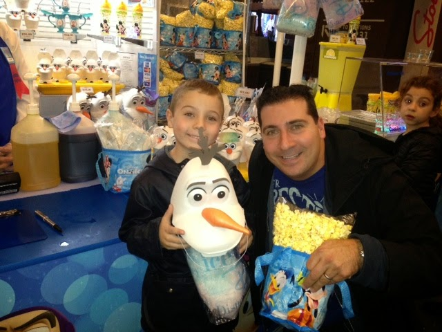 Armed with Popcorn & Cotton Candy at Disney on Ice presents Frozen