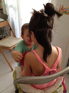 princesa, pirata, niños, vacaciones, verano, corte de pelo