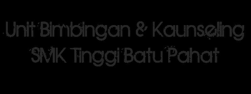 Unit Bimbingan & Kaunseling SMK Tinggi Batu Pahat