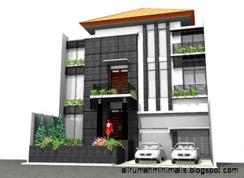 Desain Rumah Minimalis 3 Lantai