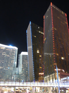The Veer Towers at CityCenter