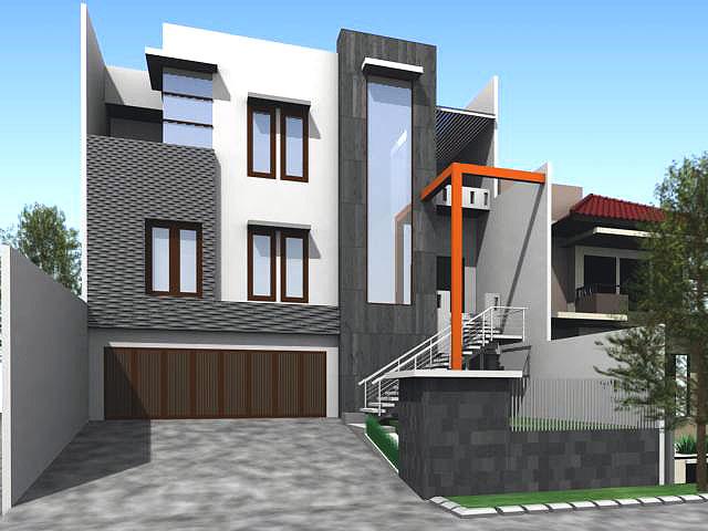 Koleksi Gambar Rumah Sederhana tapi Elegan  Gambar Rumah