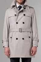 Indochino Gray Raincoat