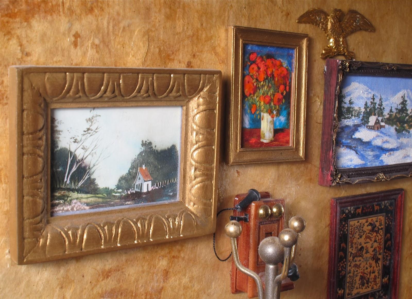 dollhouse paintings