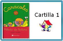 "MÉTODO DE LECTURA ""CARACOLES"" CARTILLA 1"