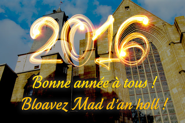Bonne année à tous ! Bloavez Mad d'an holl !