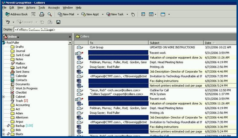 How to export GroupWise Emails to Outlook? - Email Data ...