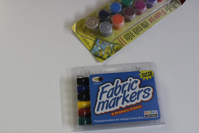 fabric markers and fabric paints