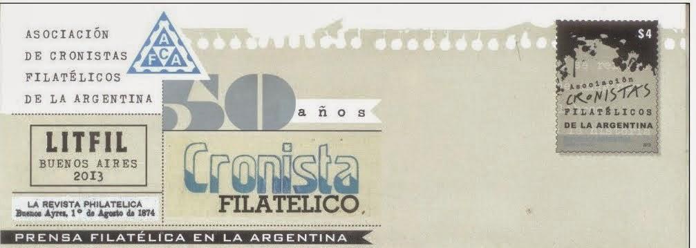 (ACFA) Asociacion  de Cronistas Filtatélicos de la Argentina