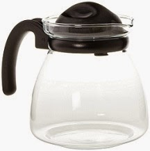 Borosil Carafe Pot with Strainer in Lid, 1.25 Litres worth Rs.645 for Rs.483 Only