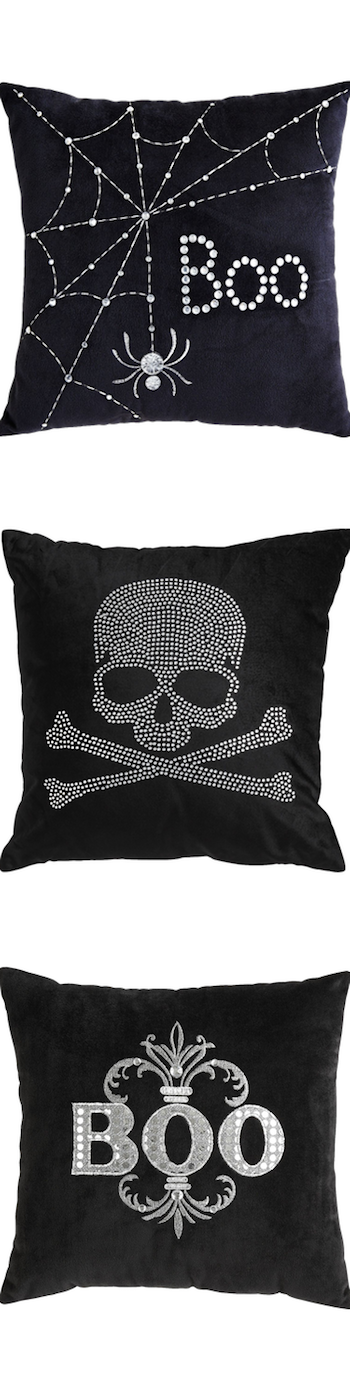 Pier One Assorted Halloween Pillows
