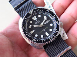 SEIKO DIVER 6309 7049 - ORIGINAL DIAL HANDS BEZEL - AUTOMATIC - PART B