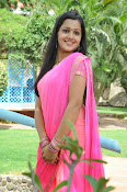 Samskruthi photo shoot in saree-thumbnail-6