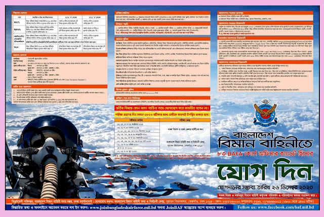 Bangladesh Air Force Job