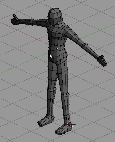 tutorial modeling karakter manusia simpel 15
