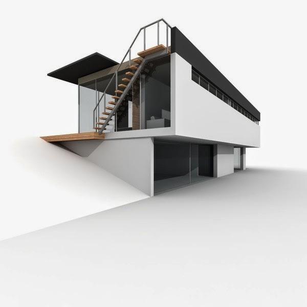 موديلات لتصاميم معمارية حديثة للمنازل