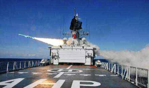 KRI tembakkan rudal Exocet MM40
