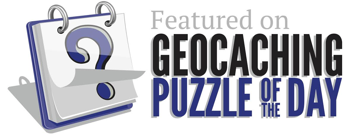 Featured on Geocaching Puzzle of the Day
