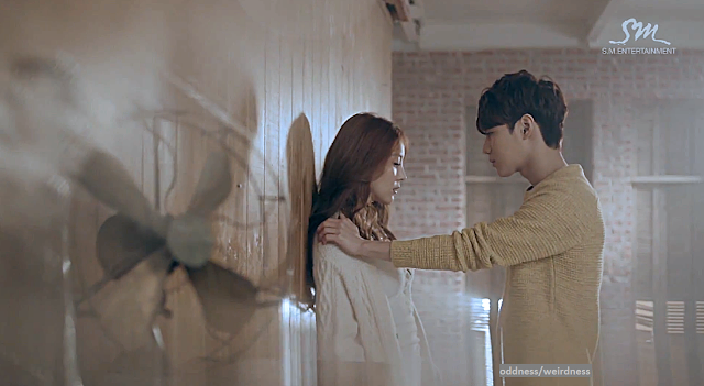 BoA Disturbance mv screencap feat. Taemin