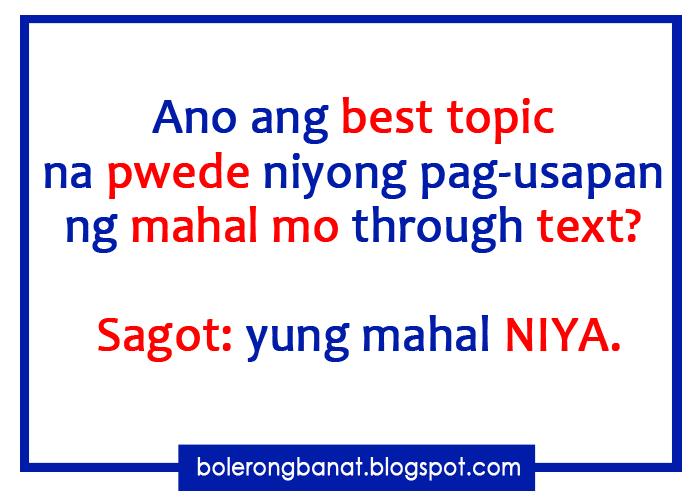 ano ang thesis sa tagalog