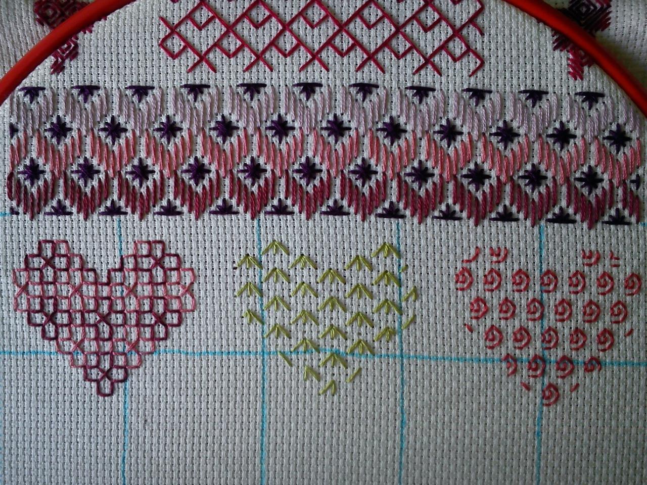 Схема для вышивки шовчиковая 436
