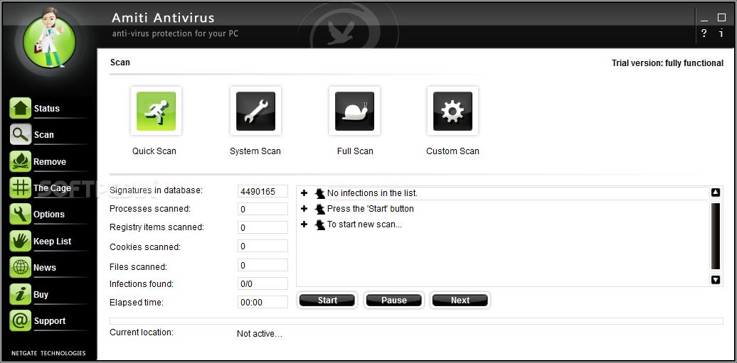 تحميل برنامج مكافحة الفيروسات 2015 للكمبيوتر برابط مباشر Download Amiti Antivirus 14.0.905.0
