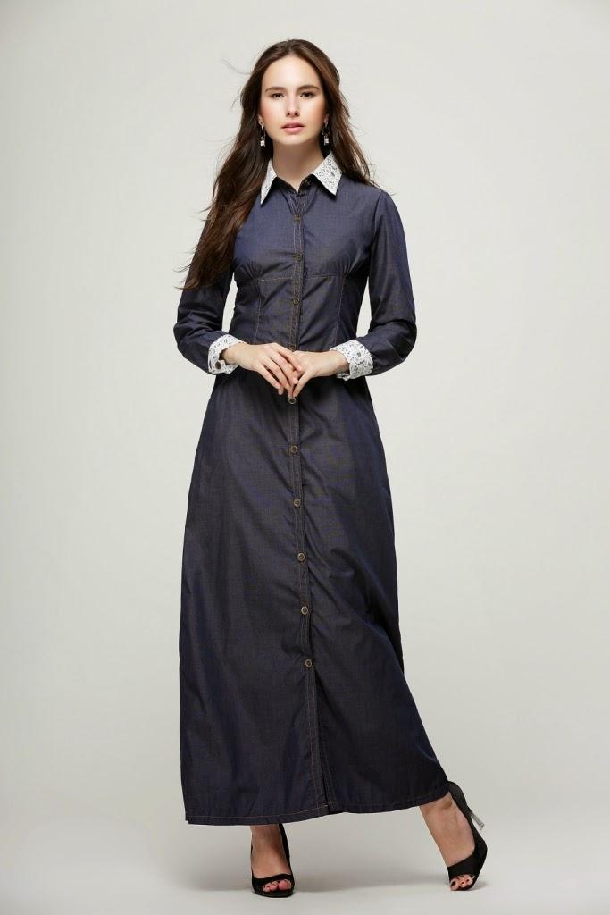dress denim murah malaysia online 2014