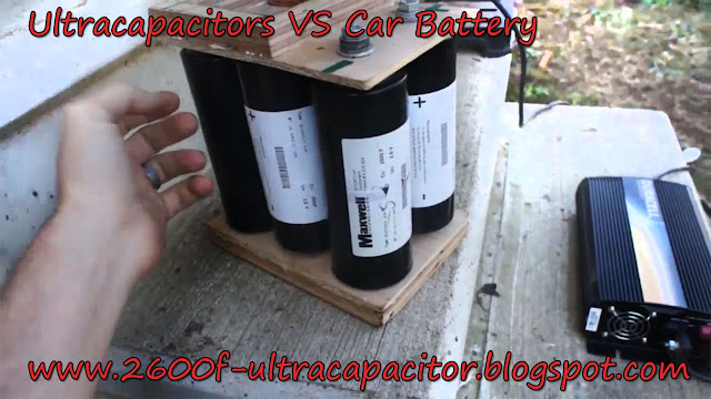 Ultra capacitor VS Car Battery