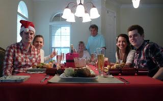 The family Christmas dinner