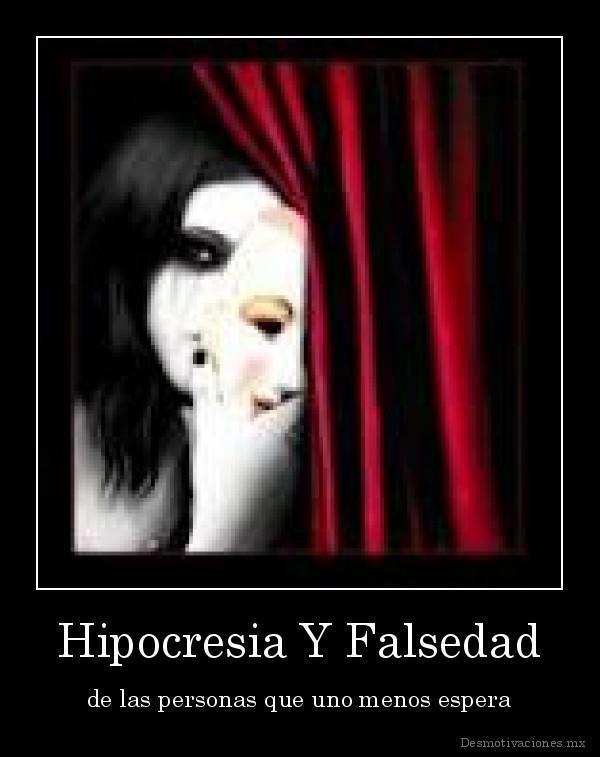 Imagenes Con Frases De Hipocritas