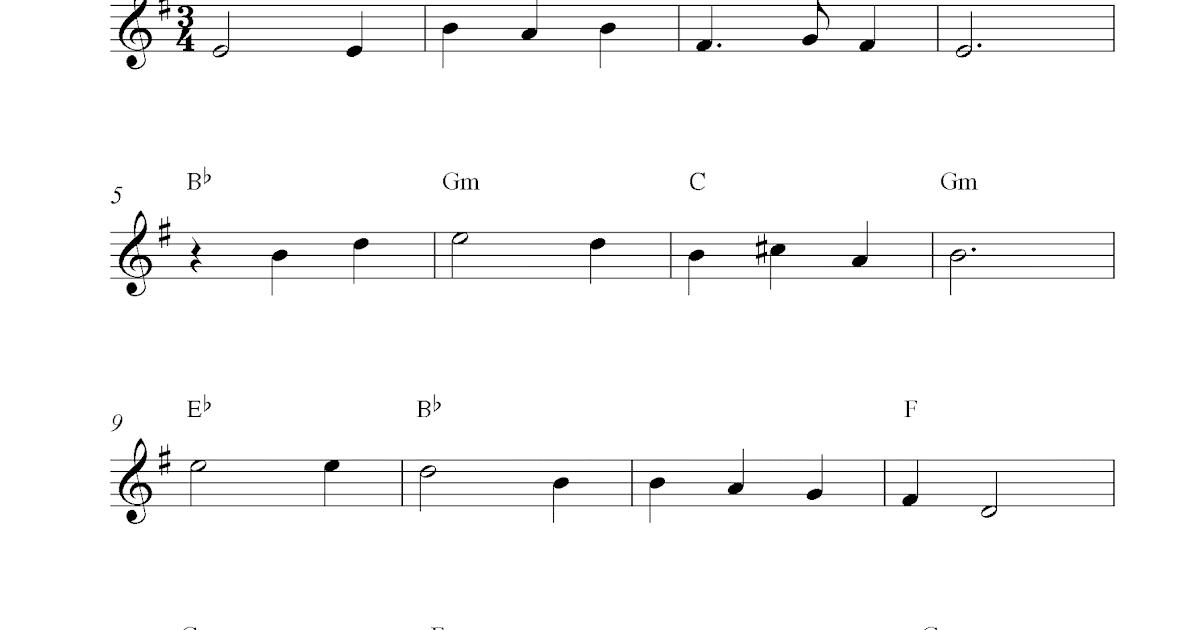 scarborough fair vocal sheet music pdf