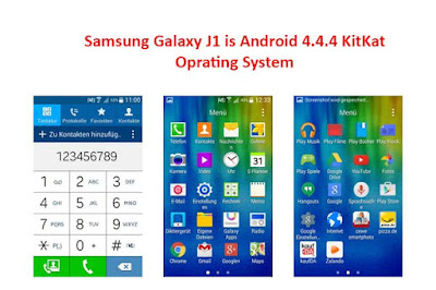 Samsung Galaxy J1 Oprating System