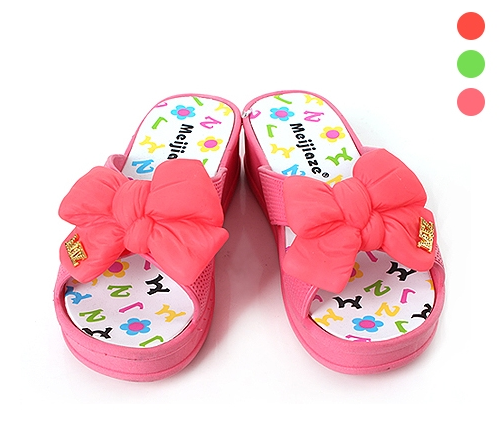 Poppy Ribbon Slippers
