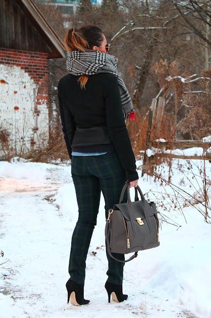 #tartan #pants #tartanpants #plaid #plaidpants #plaidtrend #tartantrend #smartset #smartsetpants #smartsettartanpants #smartsetplaidpants #zara #zarajacket #zarascarf #zaratwofacescarf #zaratartanscarf #zaraplaidscarf #oversizedscarf #aldo #aldoboots #aldobooties #aldoheels #ankleboots #gap #gapsweater #gapnavysweater #woolsweater #layering #layeringlook #hm #h&m #h&Mchambrayshirt #chambray #chambrayshirt #streetstyle #torontostreetstyle #canadianstreetstyle #canadianfashion #serbianfashion #srpskamoda #srpskistil #canadianstyle #fashionblogger #fblogger #canadianblogger #serbianblogger #ukblogger #srpskablogerka #srpskeblogerke #toronto #torontofashion #beograd #serbia #srbija #danier #danierleather #danierbag #daniersatchel #joefresh #joefreshjewellery #joefreshbracelet #animalbracelet