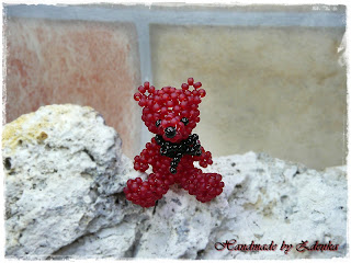 Frosted Ruby Bear