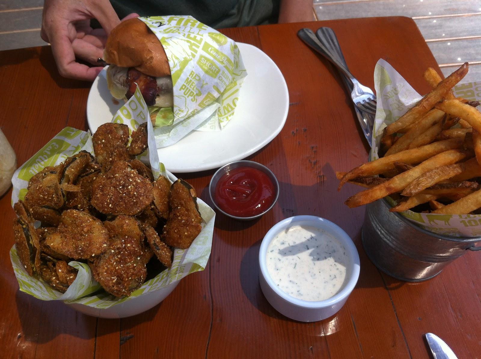 unorthodox foodie hoity toity burgers at short order