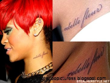 Rihanna39s Tattoos amp Meanings  Steal Her Style