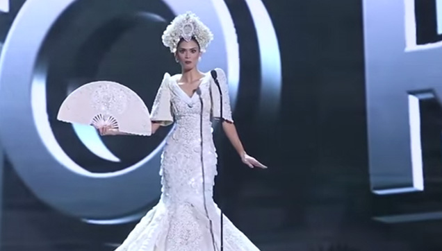 Miss Universe 2015, Pia Wurtzbach responds to Filipino fans.