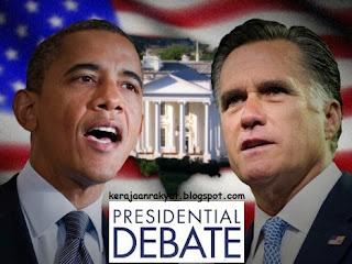 LAS VEGAS (Nevada): Presiden Barack Obama Parti Republikan Mitt Romney di Denver, Colorado,