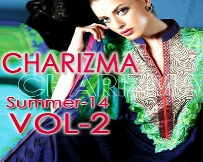 Charizma Lawn 2014 Summer Dresses Volume 2