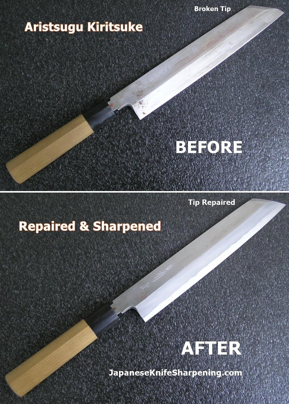 Uncategorized How To Sharpen Kitchen Knives aritsugu kiritsuke repair the kitchen knife fora repair